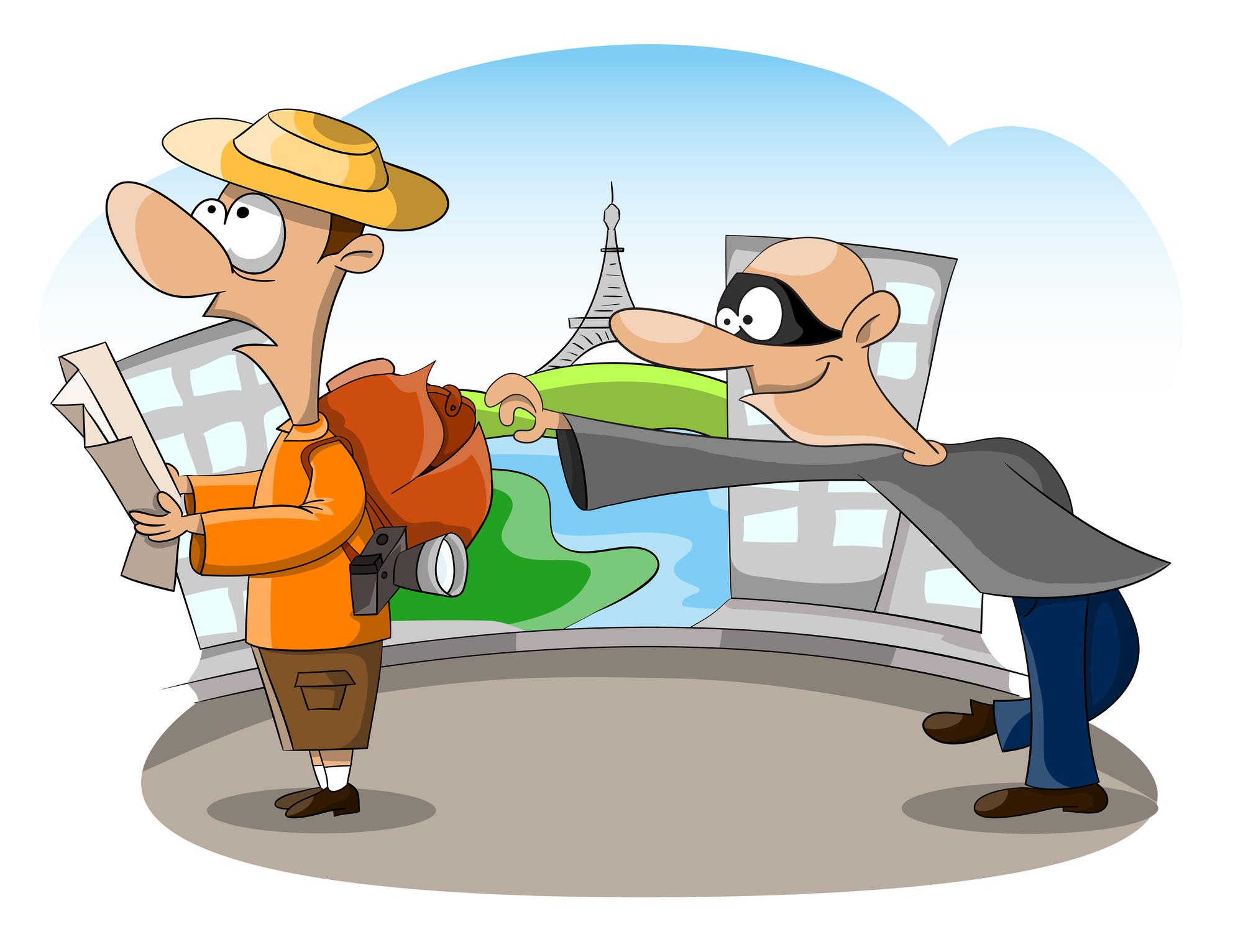 Os 5 golpes contra turistas mais comuns na Europa
