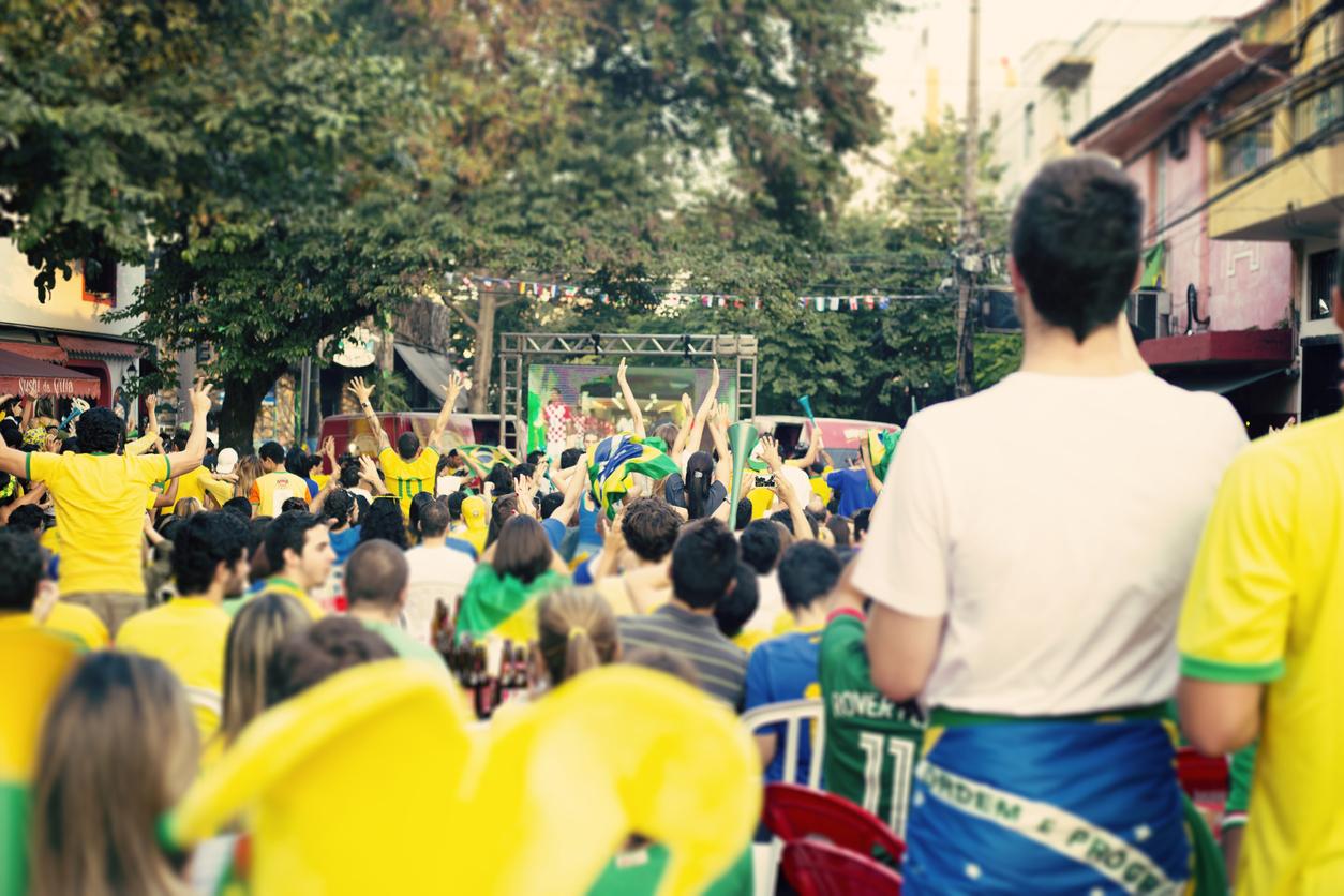 Torcedores brasileiros nas eliminatórias da Copa do Mundo da Rússia