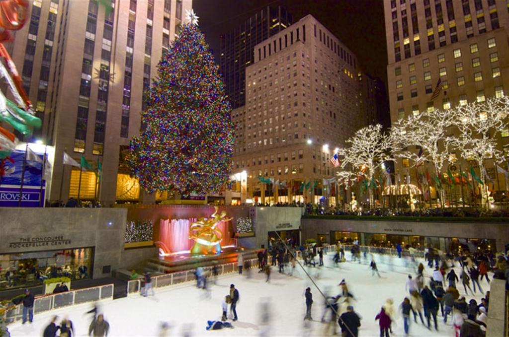 A magia do Natal em Nova York