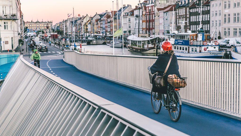 Copenhagen é a cidade da bicicleta